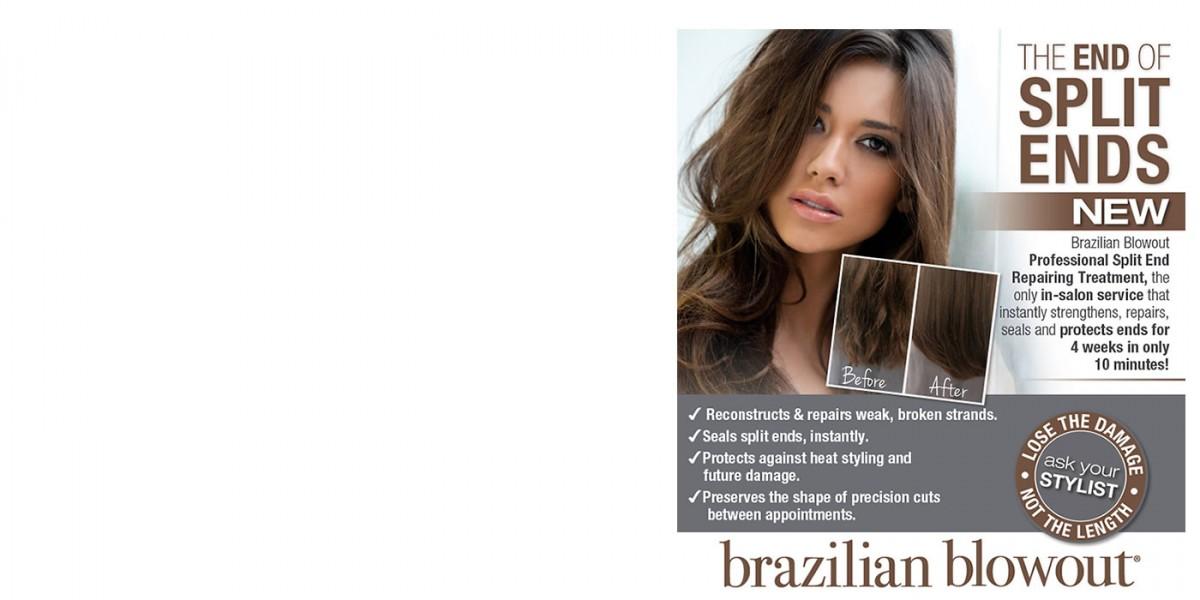 brazilian blowout split end repair treatment