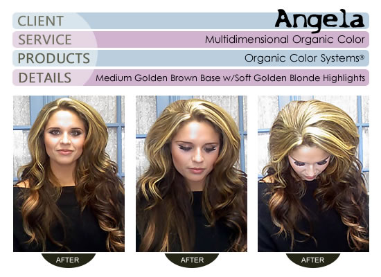 Angela - Multidimensional Organic Color