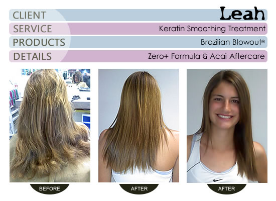 Leah - Brazilian Blowout® Smoothing Treatment