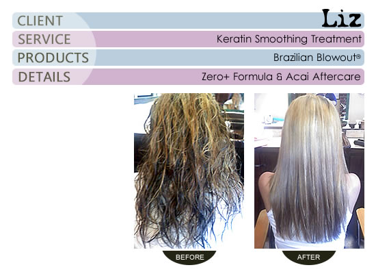 Liz - Brazilian Blowout® Smoothing Treatment