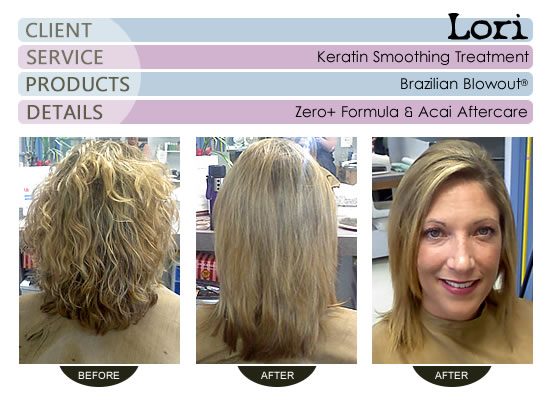 Lori - Brazilian Blowout® Smoothing Treatment