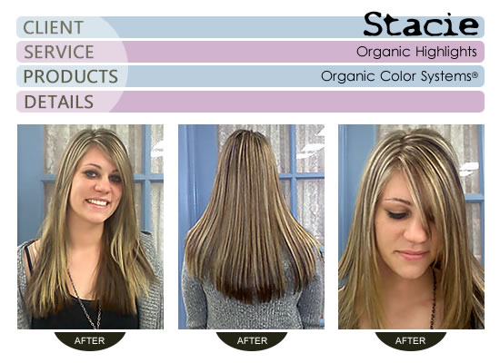 Stacie - Organic Highlights