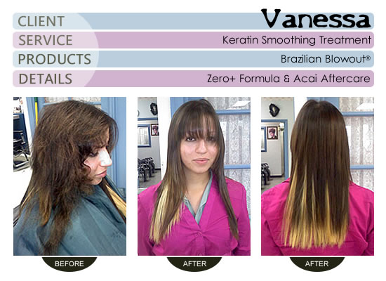 Vanessa - Brazilian Blowout® Smoothing Treatment
