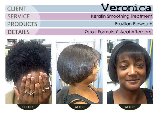 Veronica - Brazilian Blowout® Smoothing Treatment